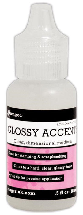 Ranger Inkssentials Mini Glossy Accents 0.5fl oz GAC27898 | Maple Treehouse