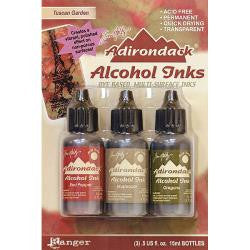 Ranger Tim Holtz Adirondack Earthtones Alcohol Ink .5oz 3-Pkg Tuscan Garden-Red Peppr-Mushroom-Oregano AAI 20707 | Maple Treehouse