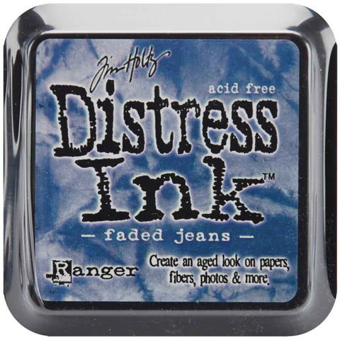 Ranger Tim Holtz Distress Ink Pad Faded Jeans DIS 21452 | Maple Treehouse