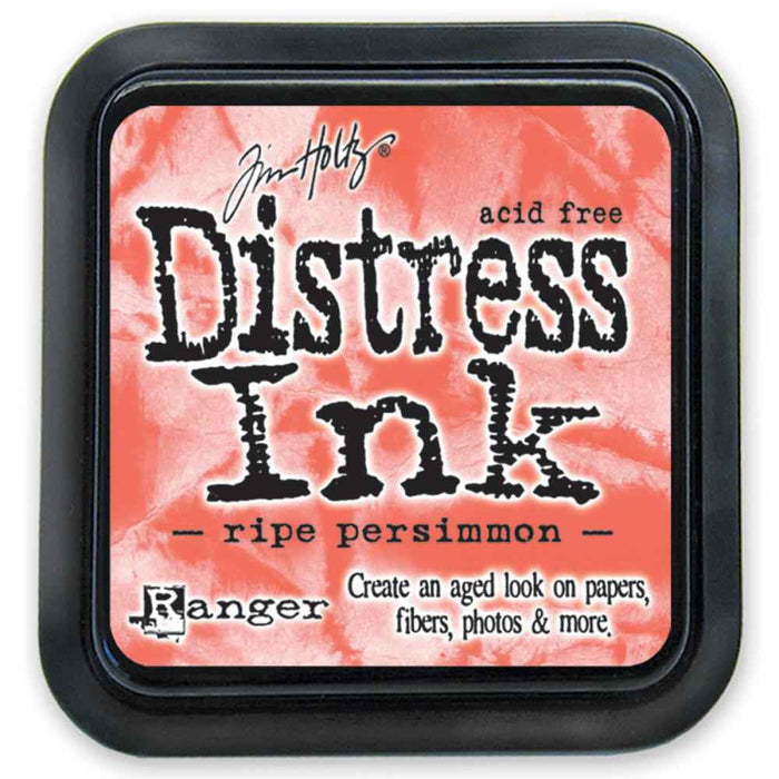Ranger Tim Holtz Distress Ink Pad Ripe Persimmon DIS 32830 | Maple Treehouse