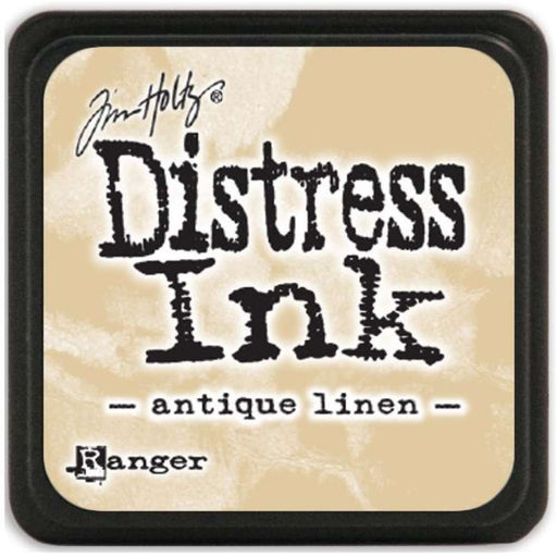 Ranger Tim Holtz Distress Mini Ink Pads Antique Linen DMINI 39846 | Maple Treehouse
