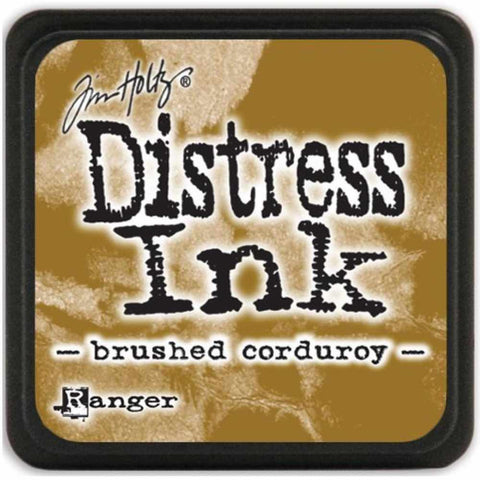 Ranger Tim Holtz Distress Mini Ink Pads Brushed Corduroy DMINI 39884 | Maple Treehouse