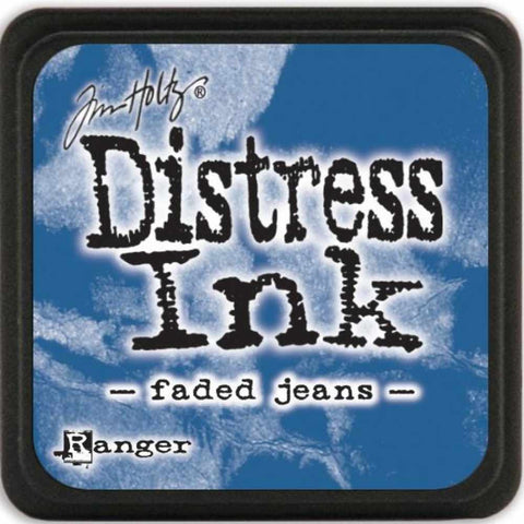 Ranger Tim Holtz Distress Mini Ink Pads Faded Jeans DMINI 39952 | Maple Treehouse