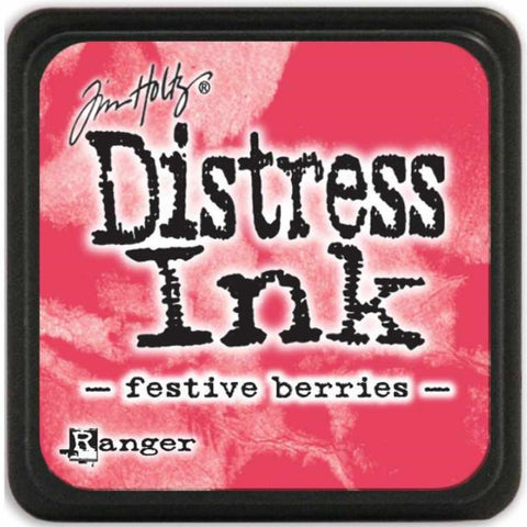 Ranger Tim Holtz Distress Mini Ink Pads Festive Berries DMINI 39969 | Maple Treehouse