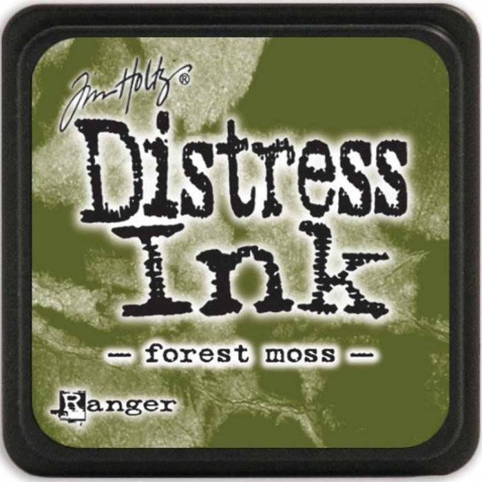 Ranger Tim Holtz Distress Mini Ink Pads Forest Moss DMINI 39983 | Maple Treehouse