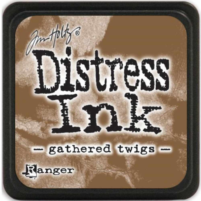 Ranger Tim Holtz Distress Mini Ink Pads Gathered Twigs DMINI 40002 | Maple Treehouse