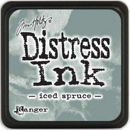 Ranger Tim Holtz Distress Mini Ink Pads Iced Spruce DMINI 40019 | Maple Treehouse