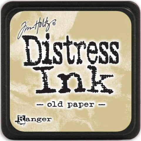 Ranger Tim Holtz Distress Mini Ink Pads Old Paper DMINI 40057 | Maple Treehouse