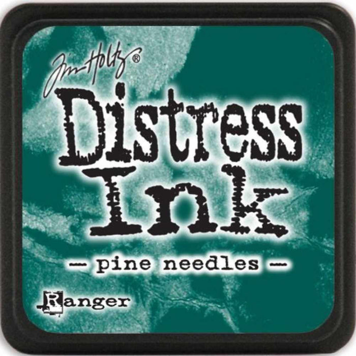 Ranger Tim Holtz Distress Mini Ink Pads Pine Needles DMINI 40095 | Maple Treehouse