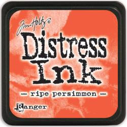 Ranger Tim Holtz Distress Mini Ink Pads Ripe Persimmon DMINI 40118 | Maple Treehouse