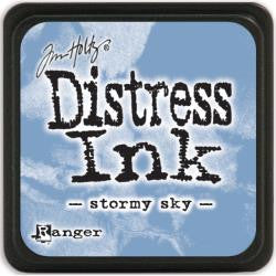 Ranger Tim Holtz Distress Mini Ink Pads Stormy Sky DMINI 40217 | Maple Treehouse