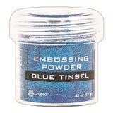 Ranger Embossing Powder 1oz Jar Blue Tinsel EPJ 41030 | Maple Treehouse