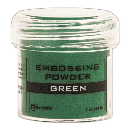 Ranger Embossing Powder 1oz Jar Green EPJ 36562 | Maple Treehouse