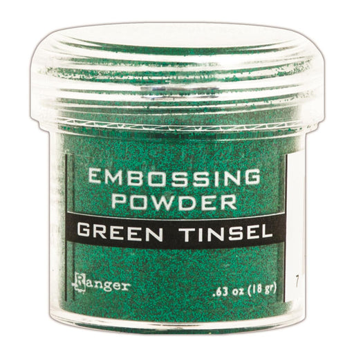 Ranger Embossing Powder 1oz Jar Green Tinsel EPJ 41054 | Maple Treehouse