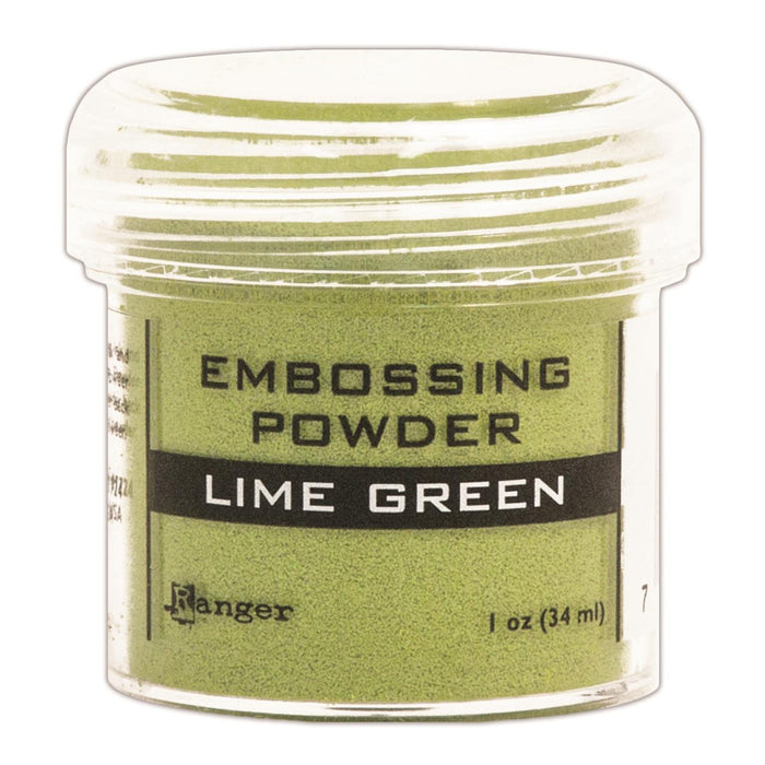 Ranger Embossing Powder 1oz Jar Lime Green EPJ 36586 | Maple Treehouse