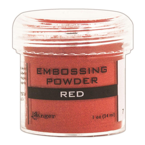 Ranger Embossing Powder 1oz Jar Red EPJ 36630 | Maple Treehouse