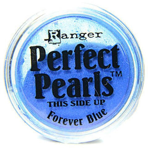 Ranger Perfect Pearls Pigment Powder 1oz Forever Blue PPP 17899 | Maple Treehouse