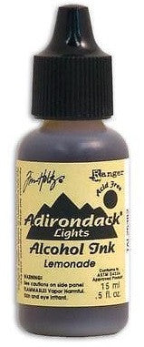 Ranger Tim Holtz Adirondack Lights Alcohol Ink .5oz Lemonade TAL 25382 | Maple Treehouse