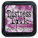 Ranger Tim Holtz Distress Ink Pad Aged Mahogany DIS 21407 | Maple Treehouse