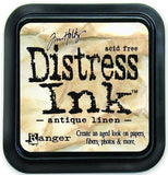 Ranger Tim Holtz Distress Ink Pad Antique Linen DIS 19497 | Maple Treehouse