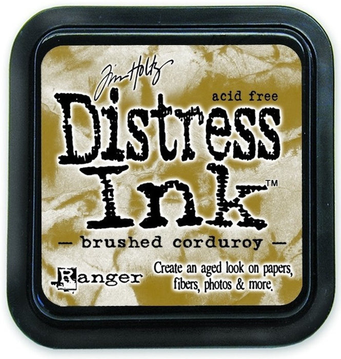 Ranger Tim Holtz Distress Ink Pad Brushed Corduroy DIS 21421 | Maple Treehouse