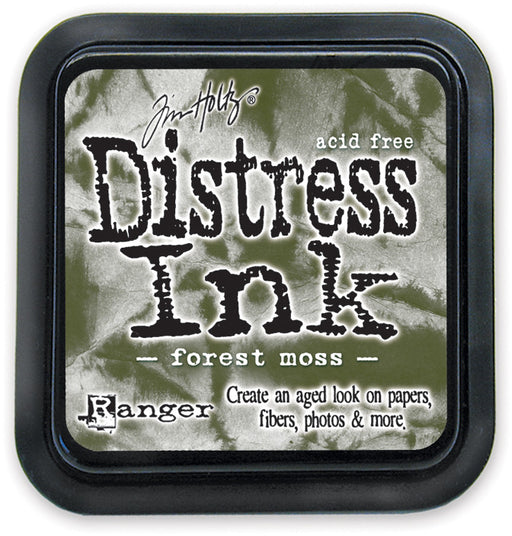 Ranger Tim Holtz Distress Ink Pad Forest Moss DIS 27133 | Maple Treehouse