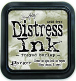 Ranger Tim Holtz Distress Ink Pad Frayed Burlap DIS 21469 | Maple Treehouse