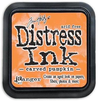 Ranger Tim Holtz Distress Ink Pad October-Carved Pumpkin DIS 43201 | Maple Treehouse