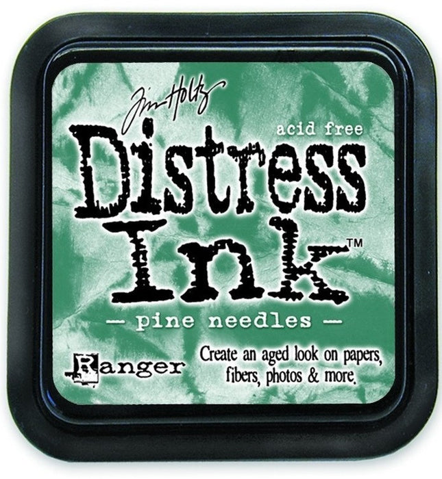 Ranger Tim Holtz Distress Ink Pad Pine Needles DIS 21476 | Maple Treehouse