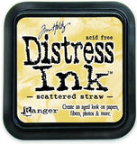 Ranger Tim Holtz Distress Ink Pad Scattered Straw DIS 21483 | Maple Treehouse