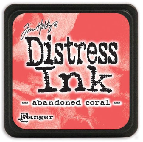 Ranger Tim Holtz Distress Mini Ink Pads Abandoned Coral DMINI 46769 | Maple Treehouse