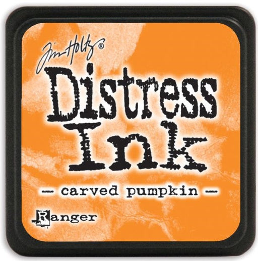 Ranger Tim Holtz Distress Mini Ink Pads Carved Pumpkin DMINI 47377 | Maple Treehouse