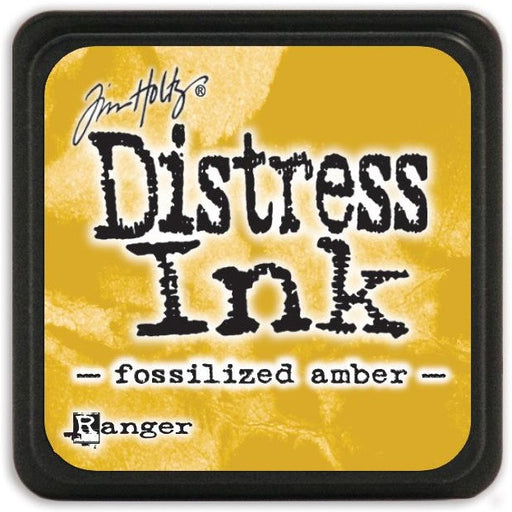 Ranger Tim Holtz Distress Mini Ink Pads Fossilized Amber DMINI 46783 | Maple Treehouse