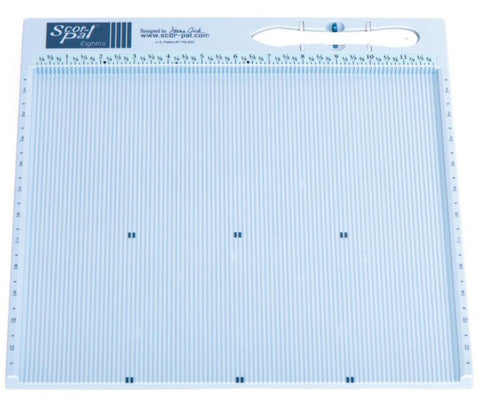 "Scor-Pal Eights Measuring & Scoring Board 12"" x 12"" .125"" Space Grooves SP108 