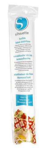 "Silhouette Fusible Fabric Stabilizer 12"" X 60"" Roll Clean Cut FUSE CUT 
