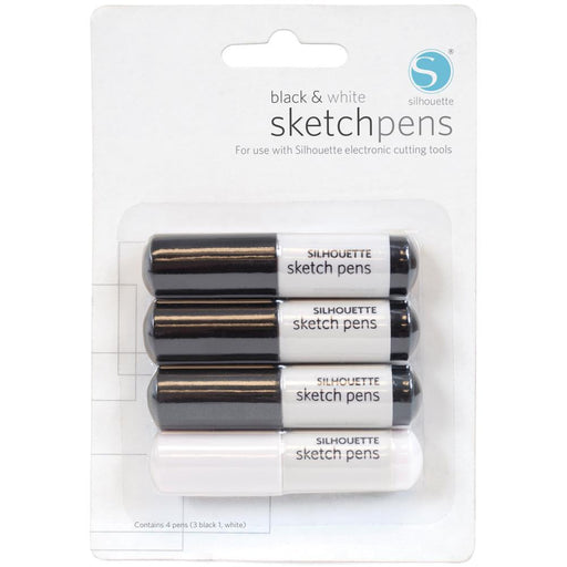Silhouette Sketch Pens 4/Pkg SILHPEN | Maple Treehouse