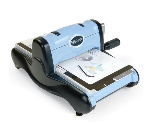 Sizzix BIGkick Machine With Extended Multipurpose Platform Periwinkle 657850 | Maple Treehouse