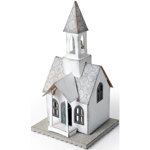 "Sizzix Bigz Die By Tim Holtz 5.5"" X 6"" Village Bell Tower 660987 