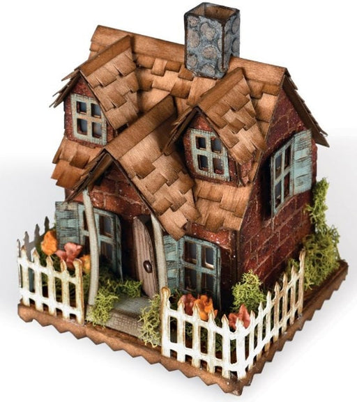 "Sizzix Bigz Die By Tim Holtz 5.5"" x 6"" Village Bungalow 661196 