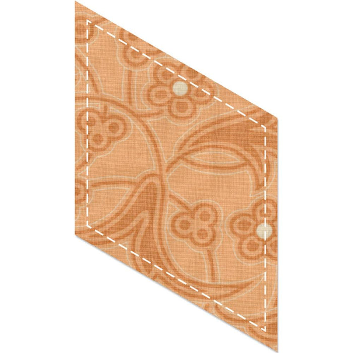 "Sizzix Bigz Dies Fabi Edition 60 Degrees Diamond 5"" Sides 660529 
