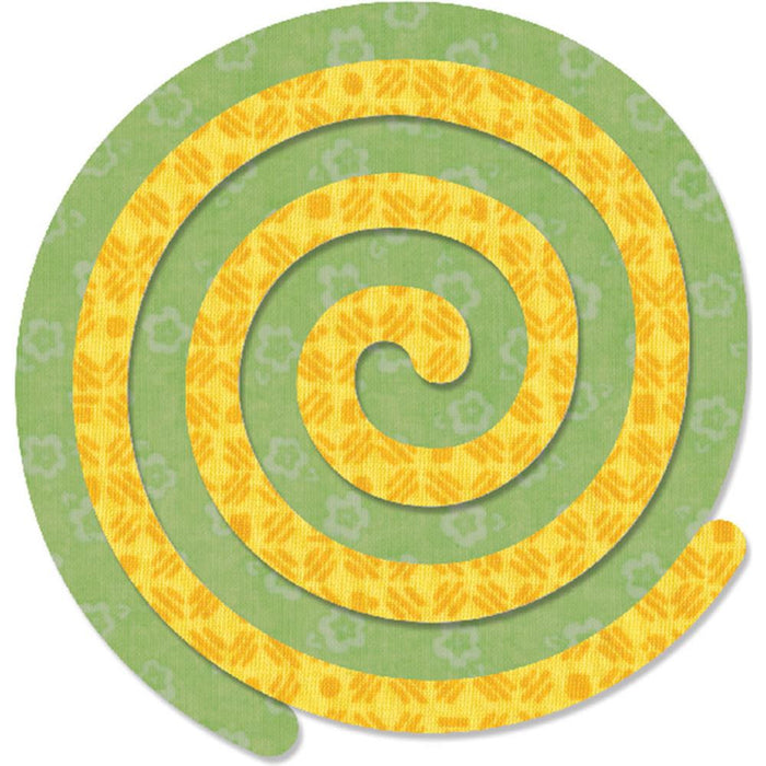 "Sizzix Bigz Dies Fabi Edition Spirals 5"" 660071 