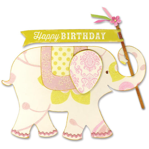 Sizzix Bigz Large Die By Brenda Walton Elephant 660261 | Maple Treehouse