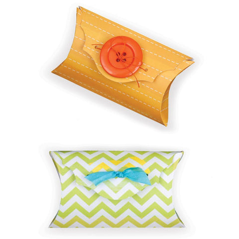 "Sizzix Bigz Large Die By Where Women Cook 6"" X 8.75"" Fancy Pillow Box 659188 