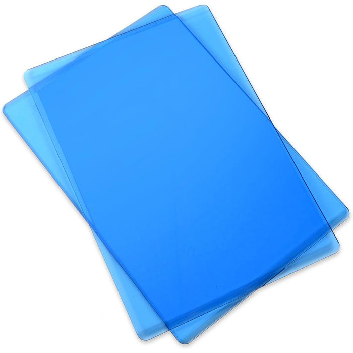 "Sizzix Cutting Pads 6.125"" X 8.875"" 1 Pair Standard-Blueberry 661032 