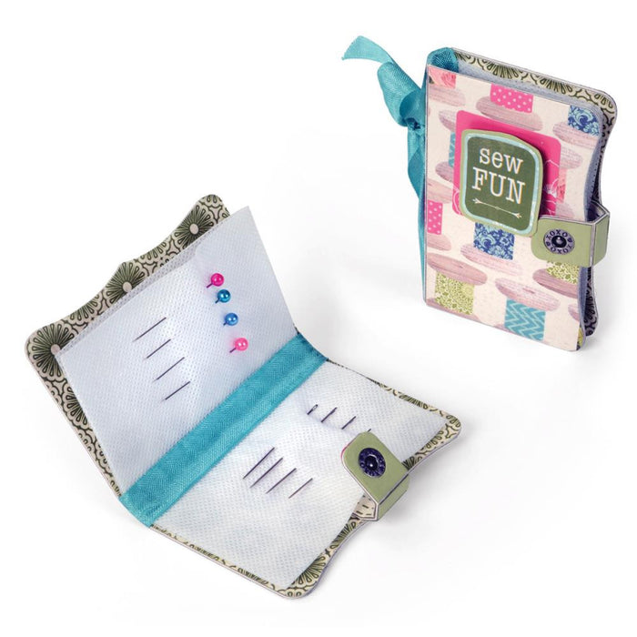 "Sizzix Scoreboards Die 5.5"" X 6"" Needle Book 660767 