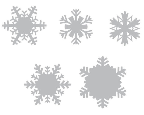 Sizzix Thinlits Dies 5-Pkg By Tim Holtz Paper Snowflakes 660059 | Maple Treehouse
