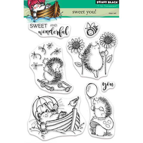 Penny Black Clear Stamps Sweet You PB30471