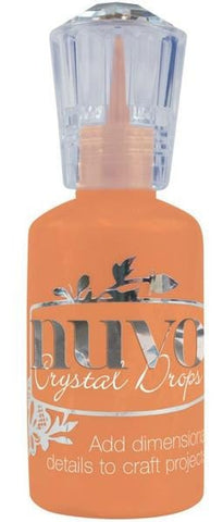 Tonic Studios Nuvo Crystal Drops 1.1oz Gloss-Ripened Pumpkin NCD 665 | Maple Treehouse