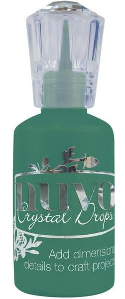 Tonic Studios Nuvo Crystal Drops 1.1oz Gloss-Woodland Green NCD 663 | Maple Treehouse