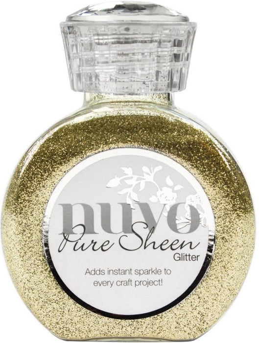 Tonic Studios Nuvo Pure Sheen Glitter 3.38oz Champagne NPSG 720 | Maple Treehouse